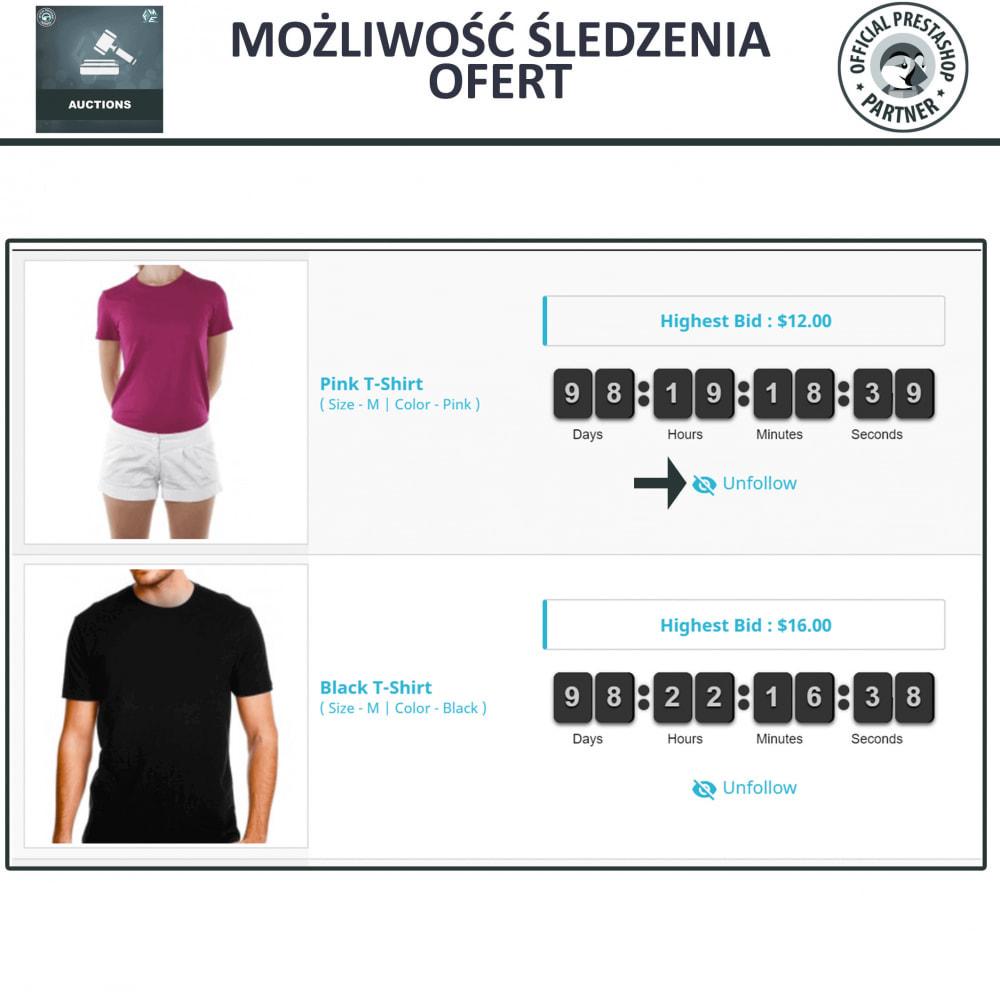 module - Zbuduj stronę aukcyjną - Aukcje Pro, Aukcje i Licytacje Online - 5