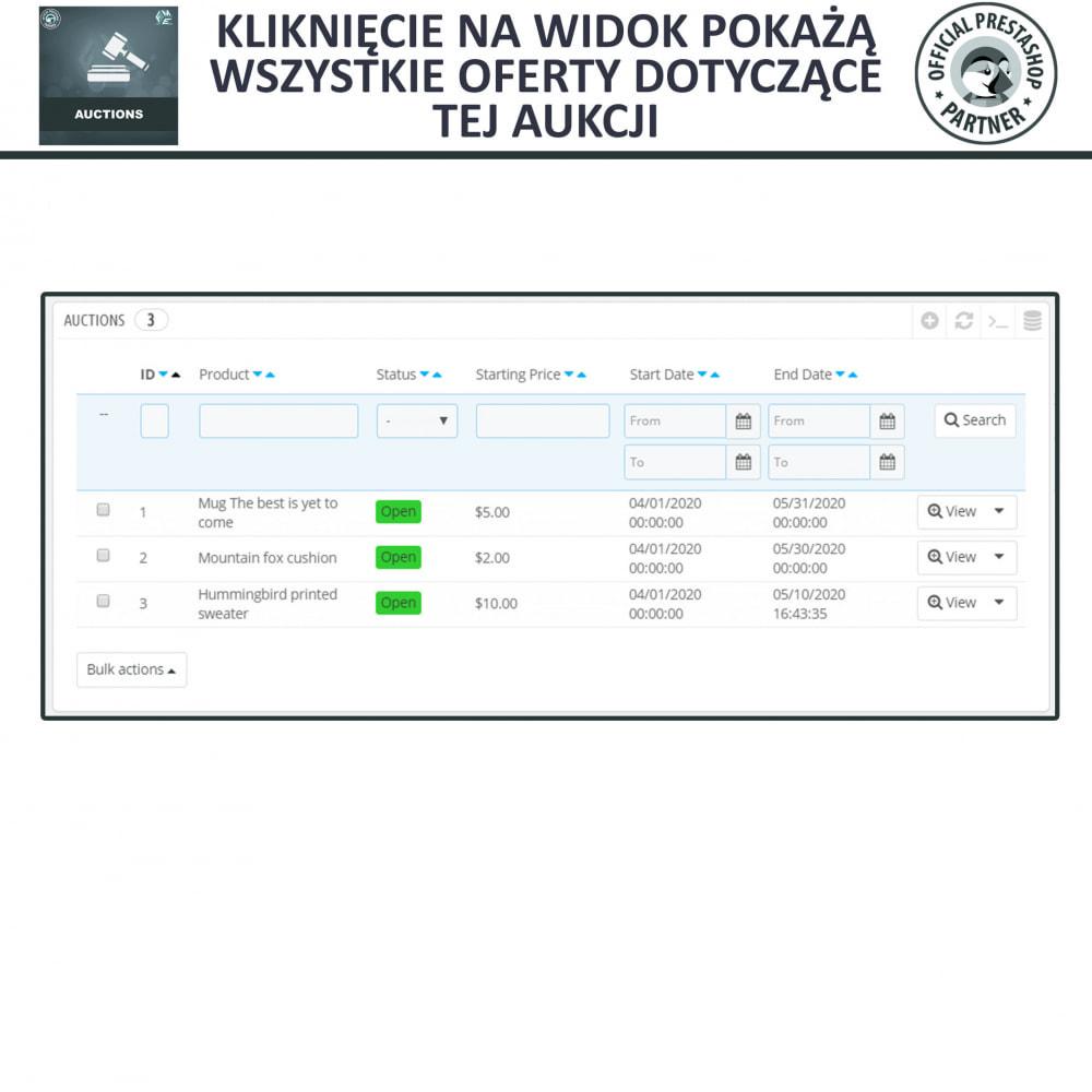 module - Zbuduj stronę aukcyjną - Aukcje Pro, Aukcje i Licytacje Online - 12