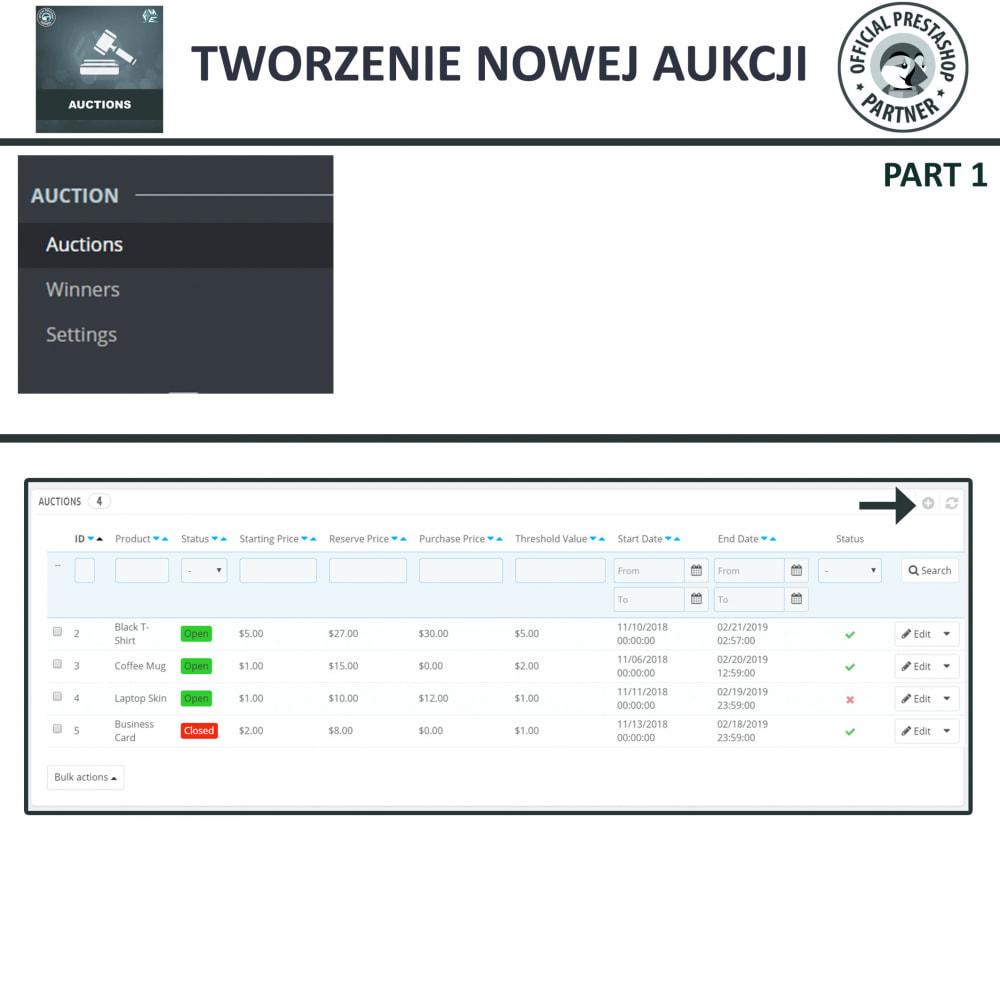 module - Zbuduj stronę aukcyjną - Aukcje Pro, Aukcje i Licytacje Online - 15