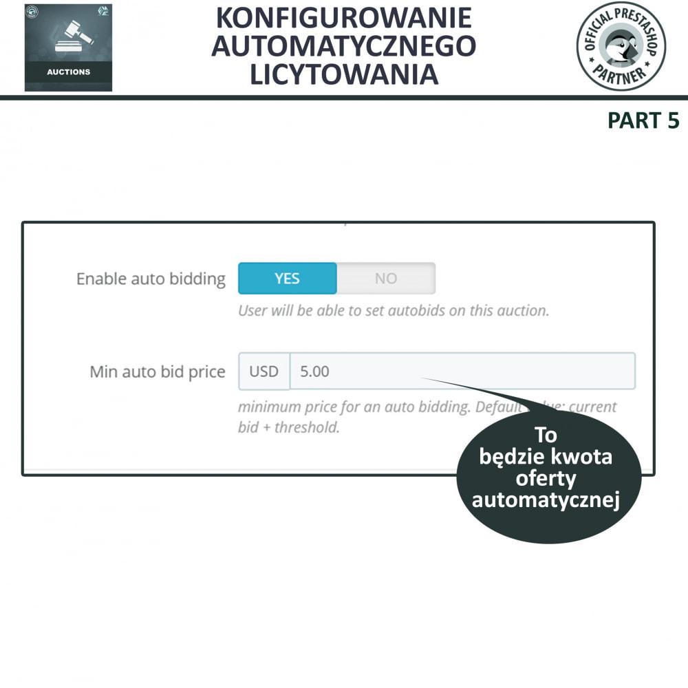 module - Zbuduj stronę aukcyjną - Aukcje Pro, Aukcje i Licytacje Online - 19
