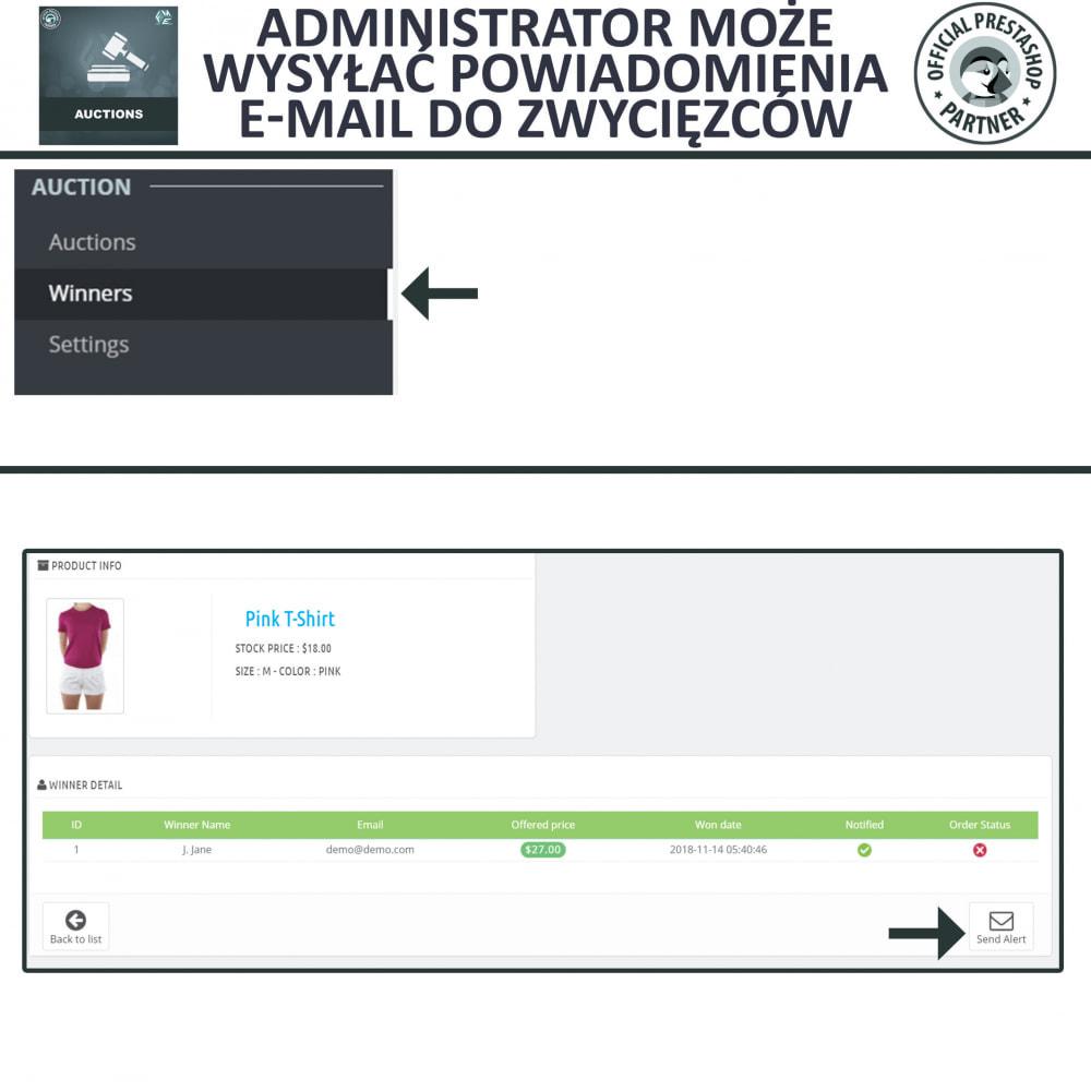 module - Zbuduj stronę aukcyjną - Aukcje Pro, Aukcje i Licytacje Online - 21