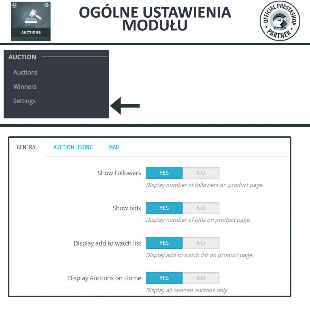 module - Zbuduj stronę aukcyjną - Aukcje Pro, Aukcje i Licytacje Online - 22