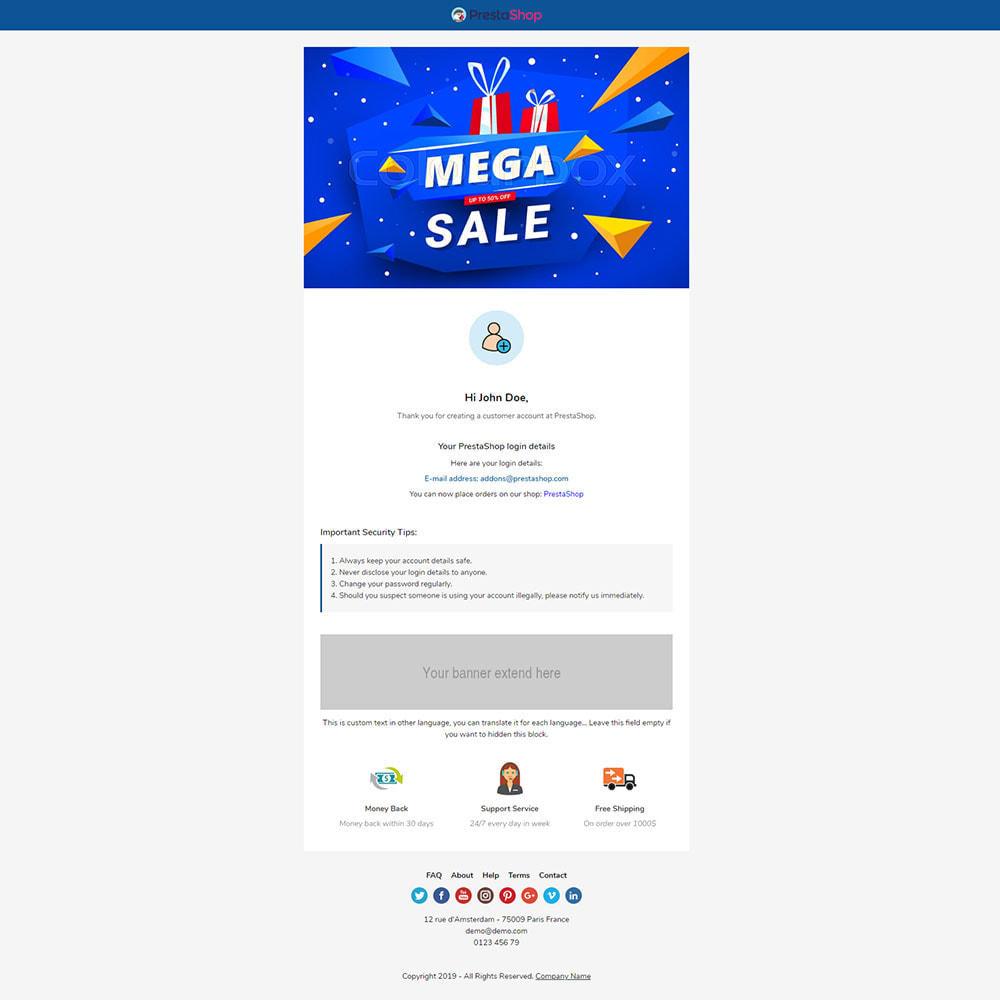 email - Plantillas de correos electrónicos PrestaShop - Kaido - Template emails and for emails of module - 3