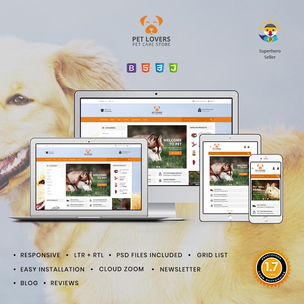 theme - Animals & Pets - Petlovers Animals & Pet Shop - 1
