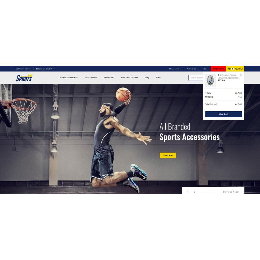 theme - Sport, Rozrywka & Podróże - Sports Line Store - 7