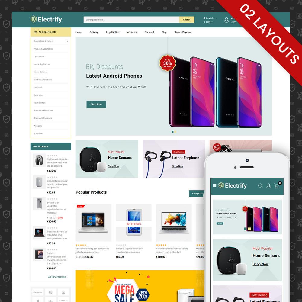 theme - Электроника и компьютеры - Electrify - Mega Electronics Store - 1