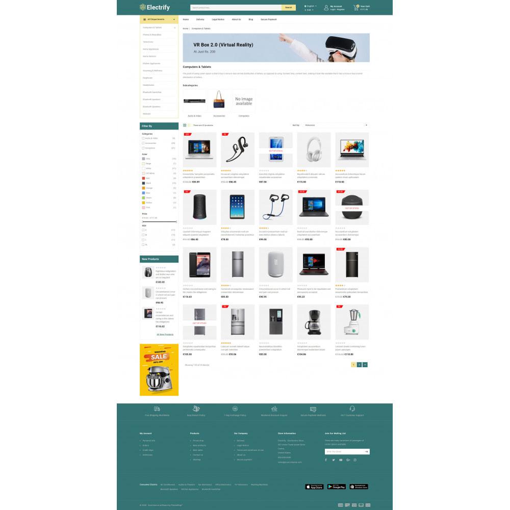 theme - Электроника и компьютеры - Electrify - Mega Electronics Store - 4