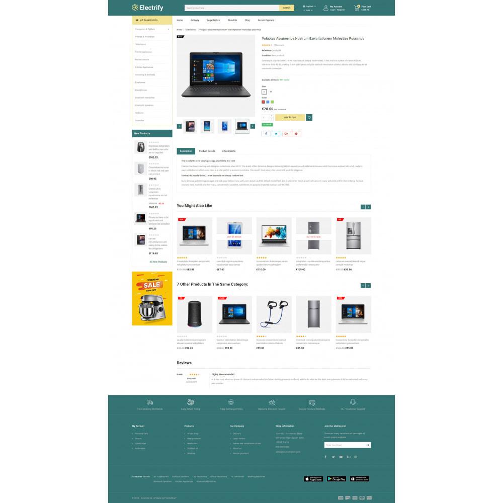 theme - Электроника и компьютеры - Electrify - Mega Electronics Store - 6