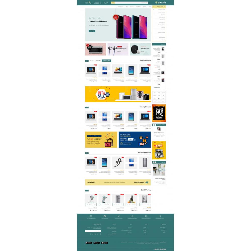 theme - Электроника и компьютеры - Electrify - Mega Electronics Store - 11
