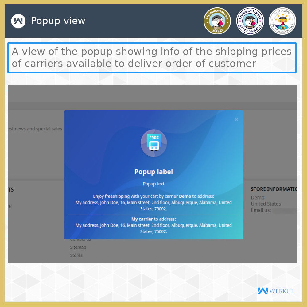 module - Shipping Carriers - Shipping Rates - 3