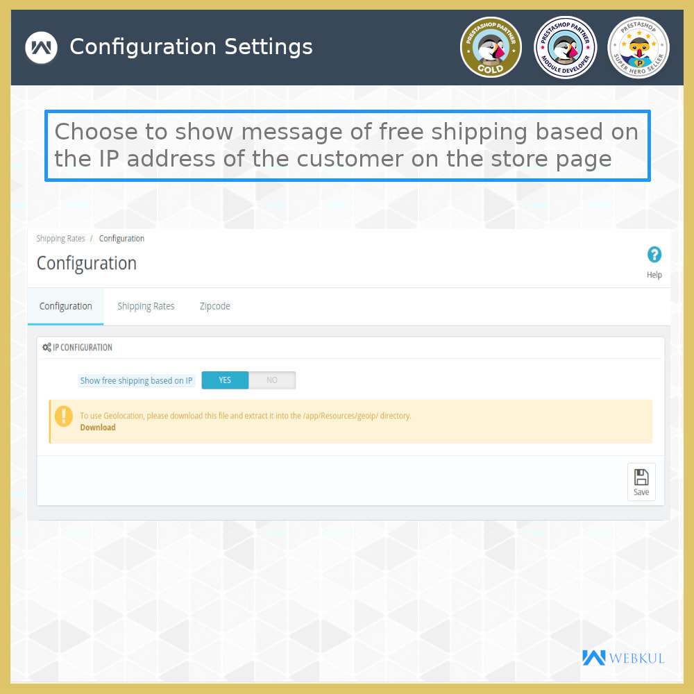 module - Shipping Carriers - Shipping Rates - 9