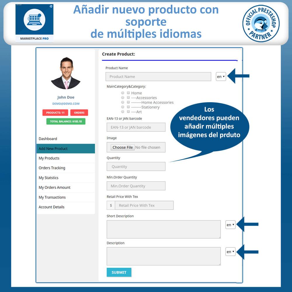module - Creación de Marketplace - Multi Vendor Marketplace  - Marketplace Pro - 13