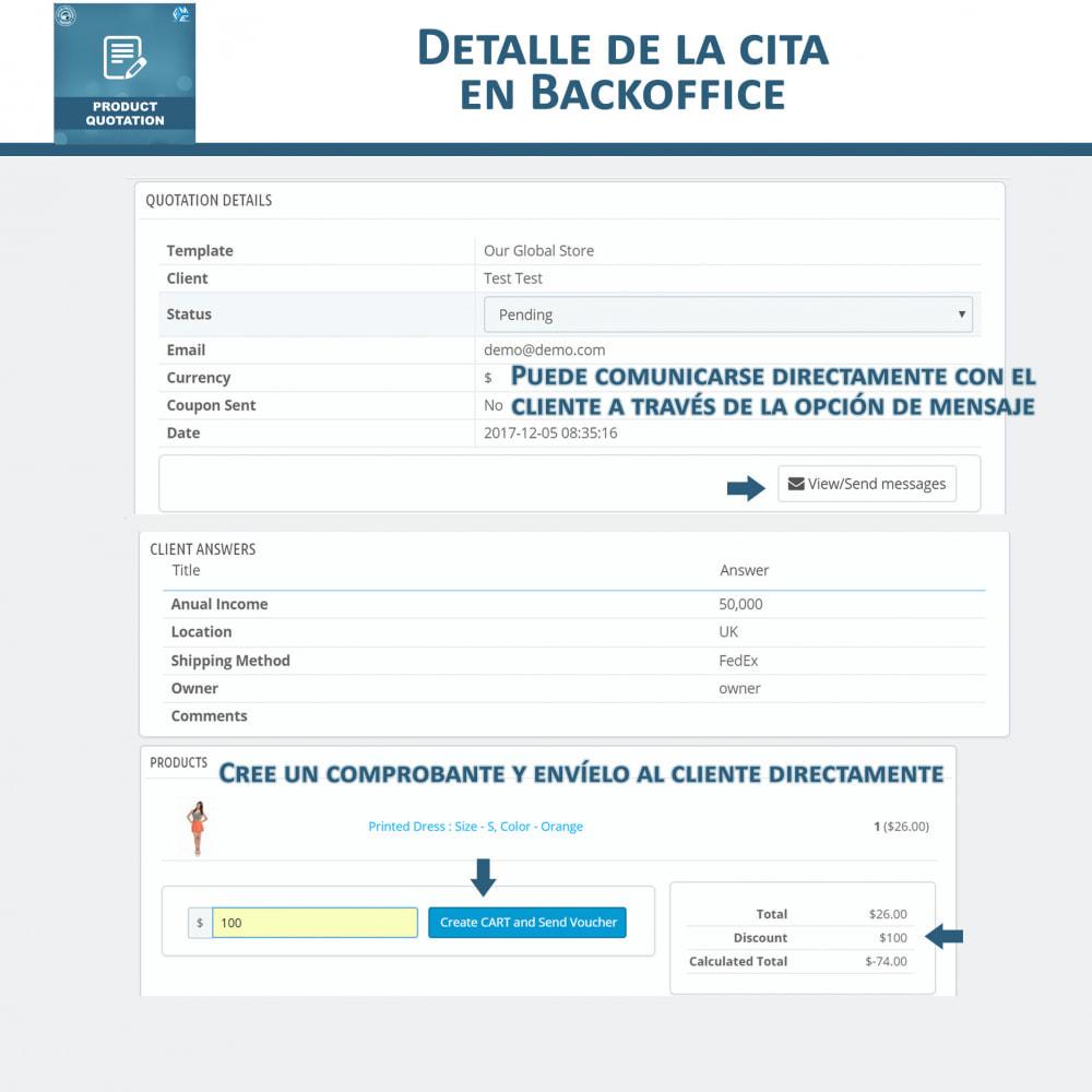 module - Presupuestos - Cotización de Producto - Permitir al Cliente Cotizar - 11
