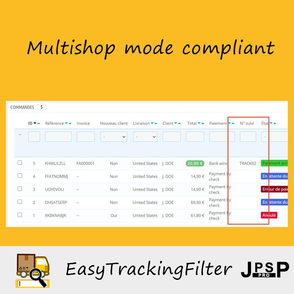 module - Tracciamento Spedizione - Search by tracking number - Easy Tracking Filter - 2