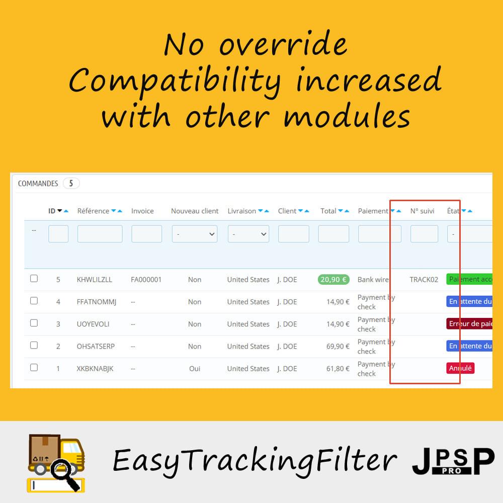 module - Tracciamento Spedizione - Search by tracking number - Easy Tracking Filter - 3