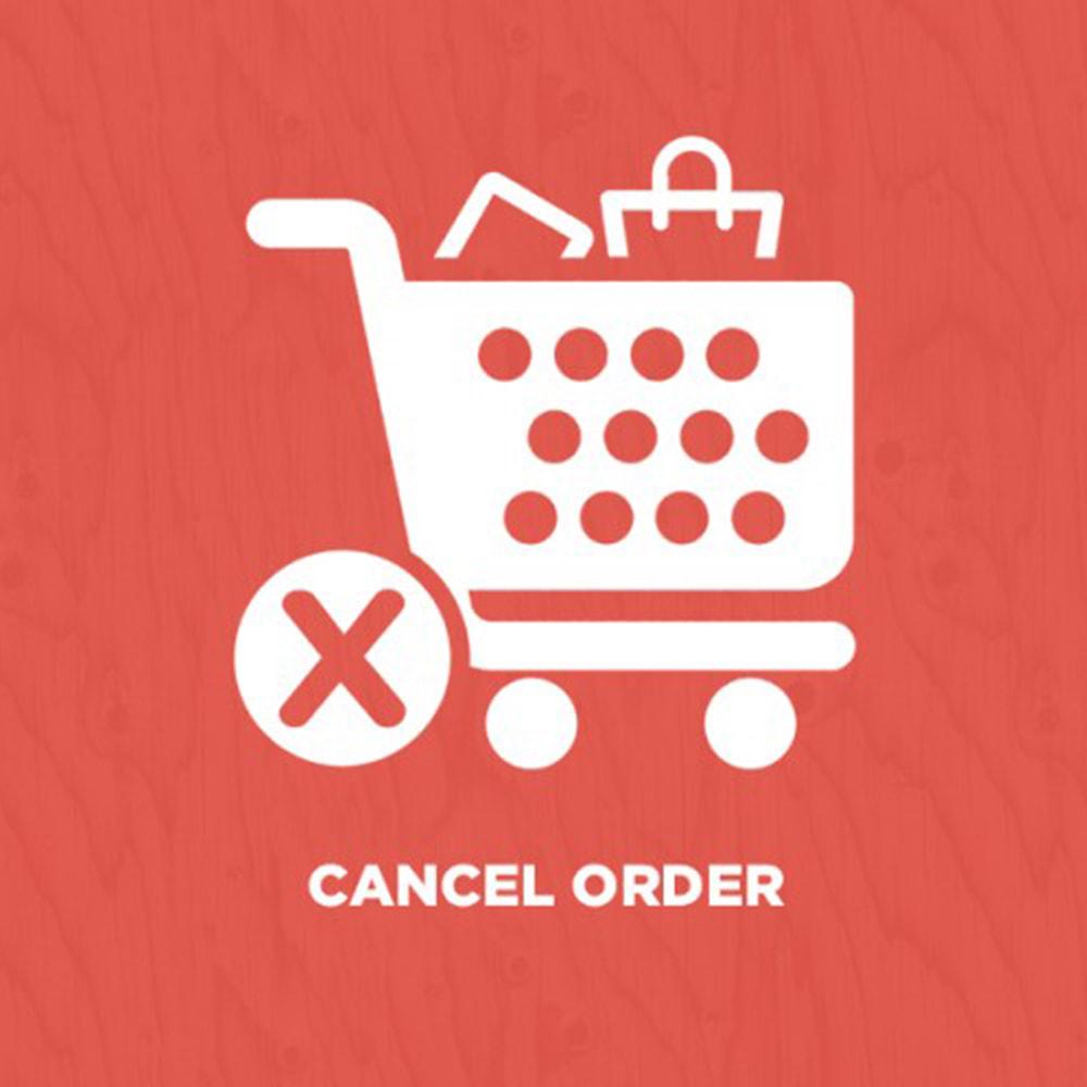 module - Anmeldung und Bestellvorgang - Cancel Order - 1