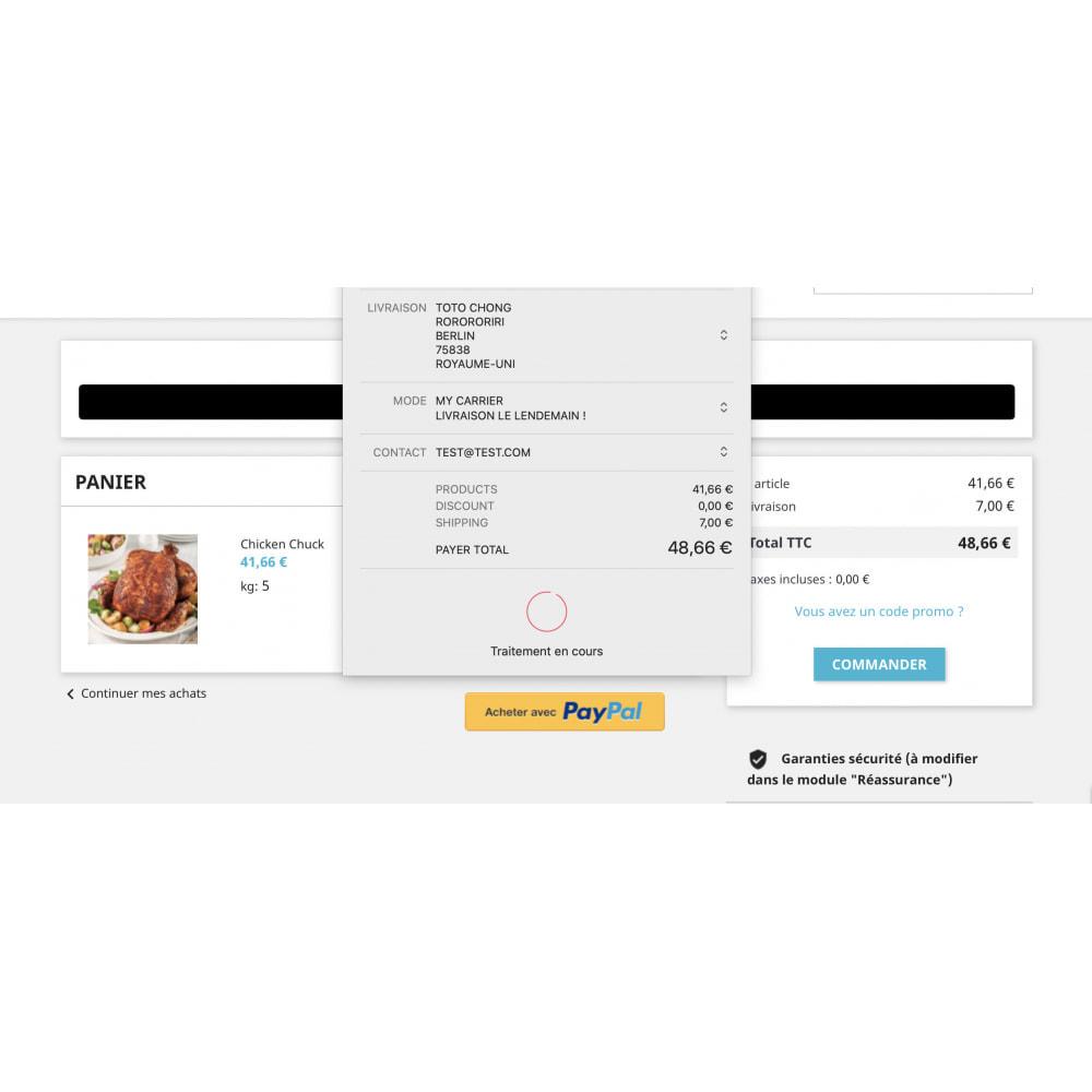 module - Processo de pedido - Apple Pay / Google Pay - 1 Click Checkout - 2