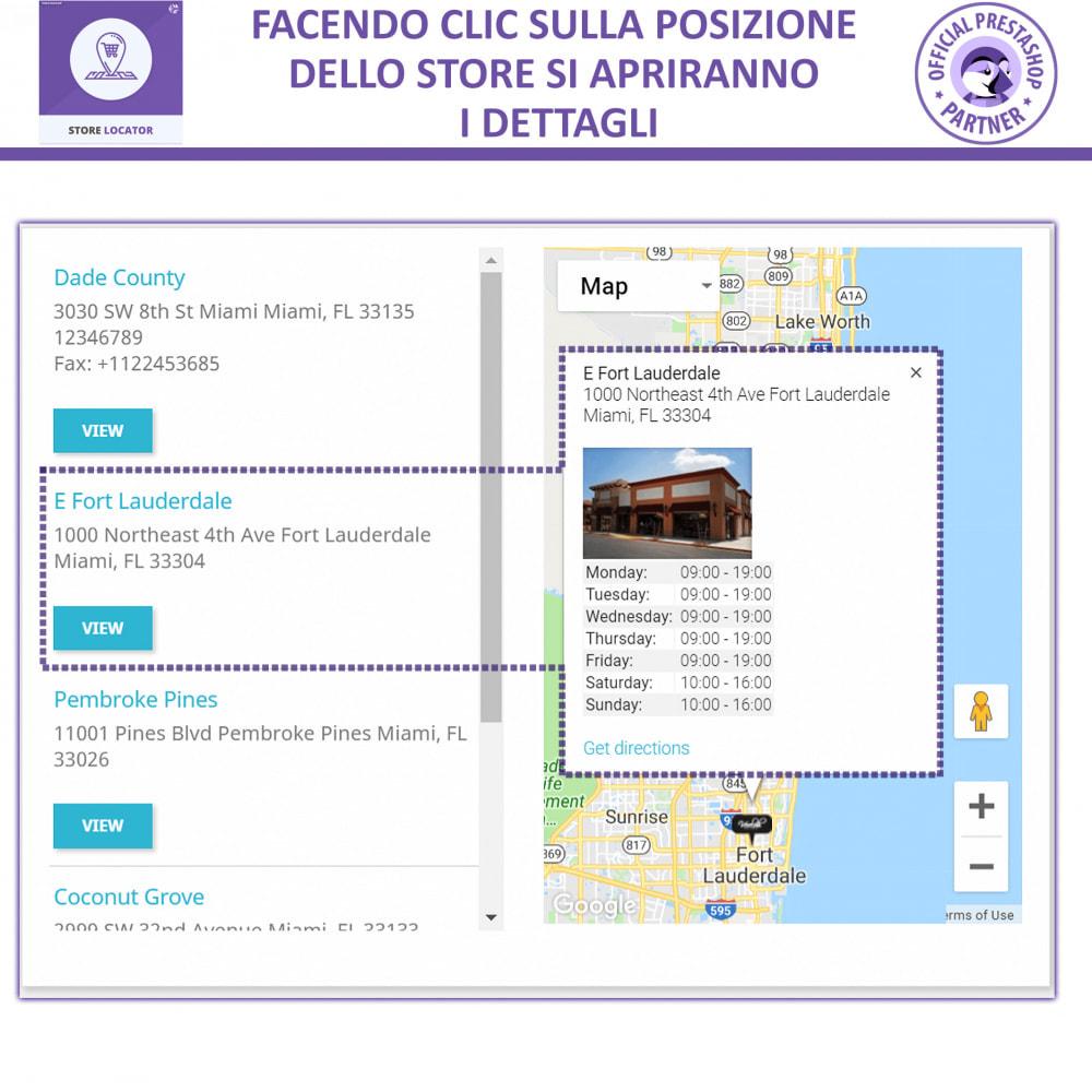 module - Lingue & Traduzioni - Localizzatore Store con Google Maps - 4