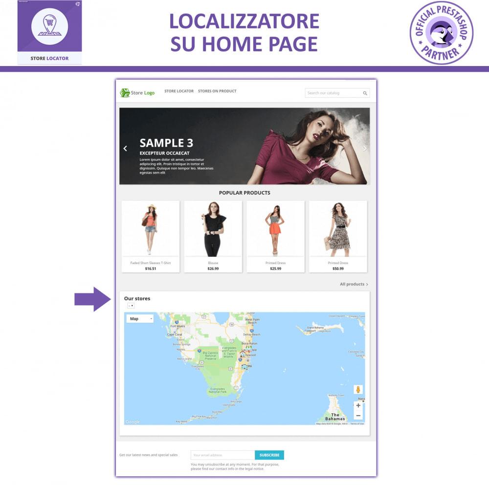 module - Lingue & Traduzioni - Localizzatore Store con Google Maps - 7