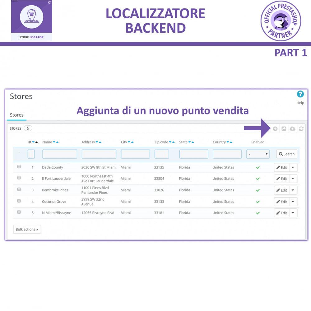module - Lingue & Traduzioni - Localizzatore Store con Google Maps - 12