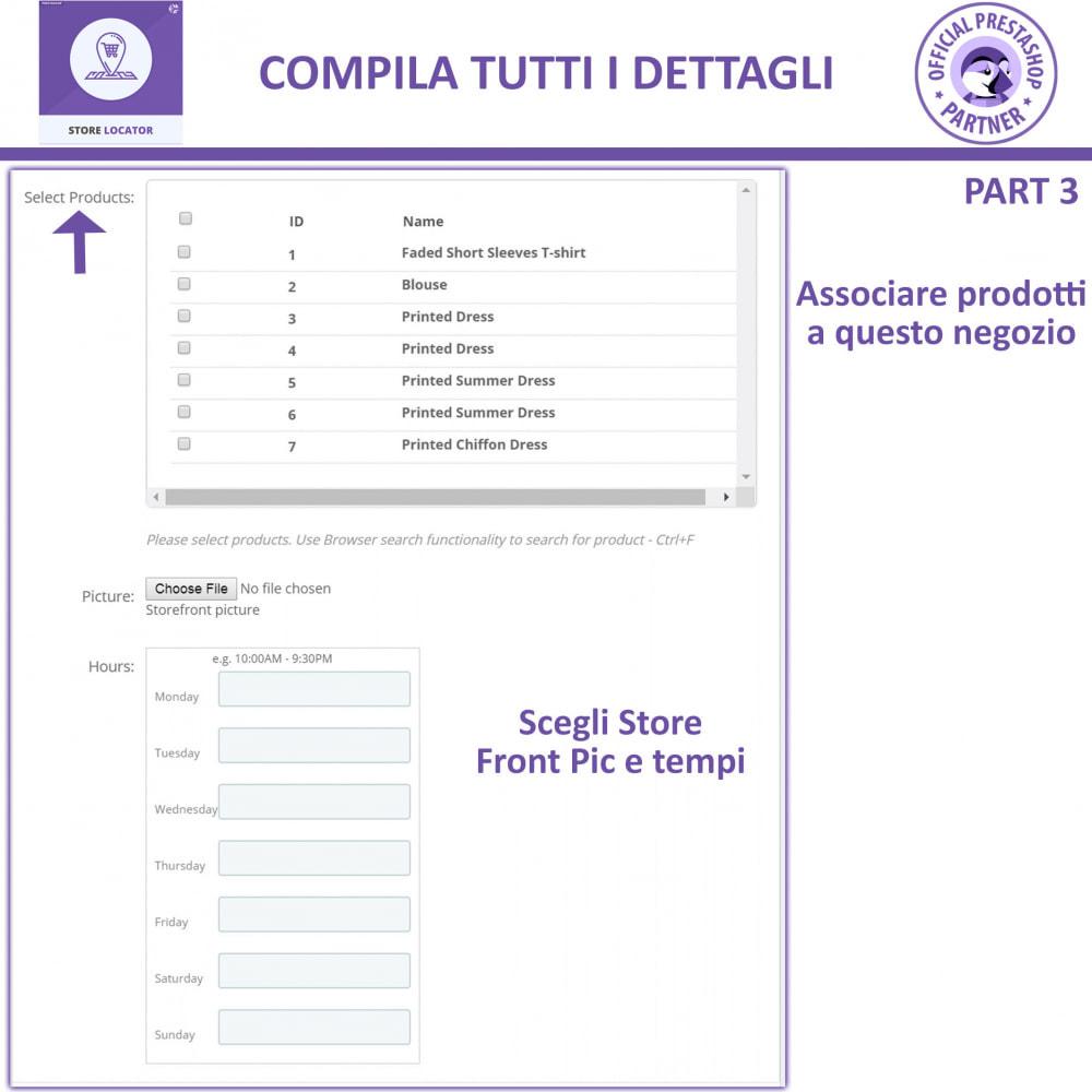 module - Lingue & Traduzioni - Localizzatore Store con Google Maps - 14