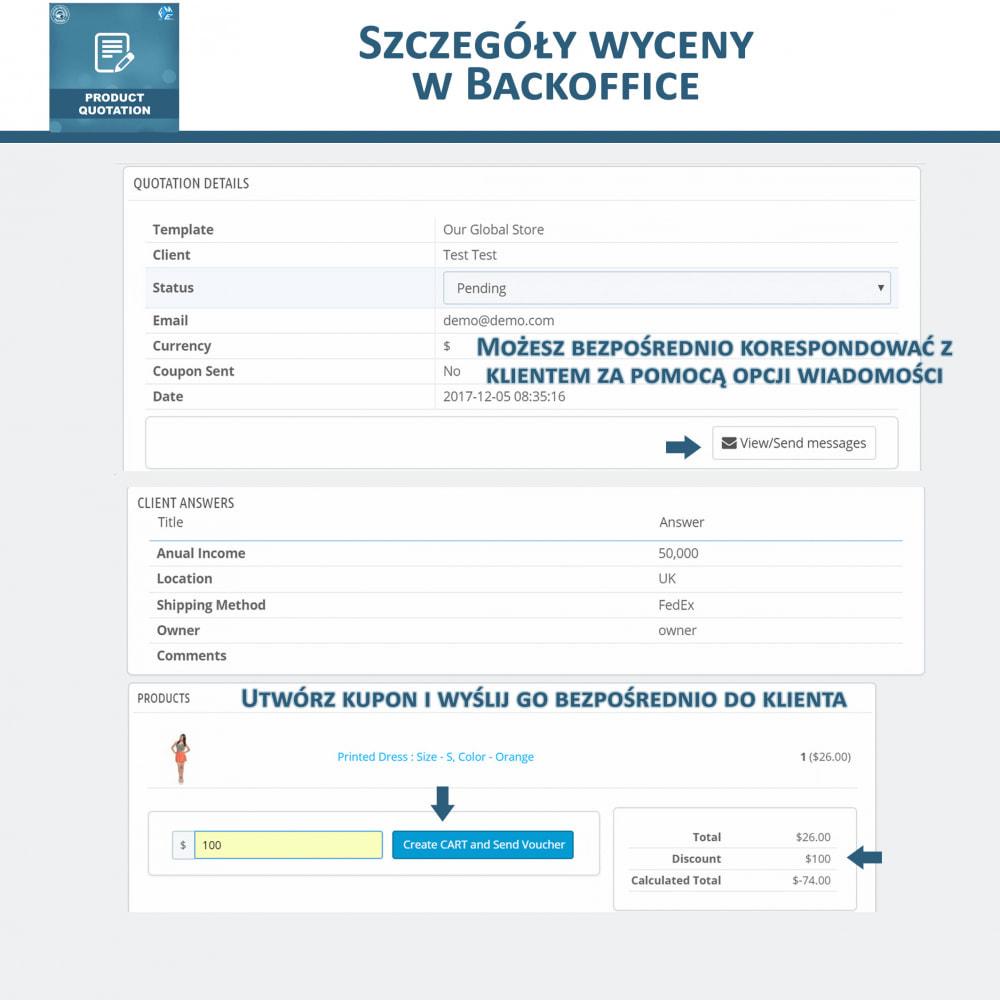 module - Wyceny - Wycena produktu - Pozwól klientowi poprosić o wycenę - 11