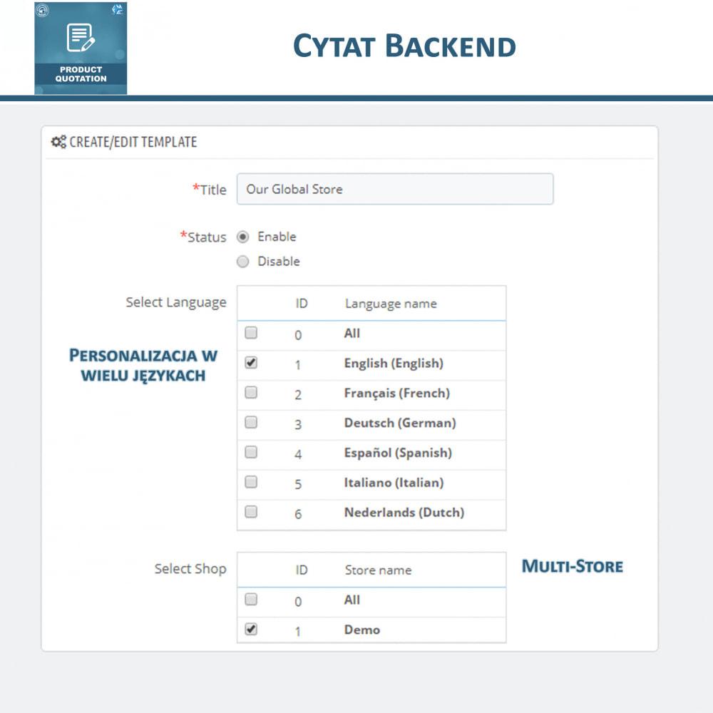 module - Wyceny - Wycena produktu - Pozwól klientowi poprosić o wycenę - 12