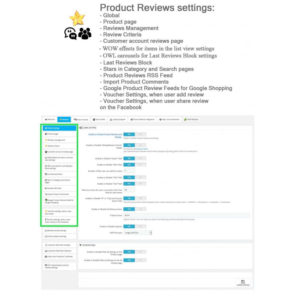 module - Avis clients - Avis sur les produits + Boutique, Programmes fidélité - 34