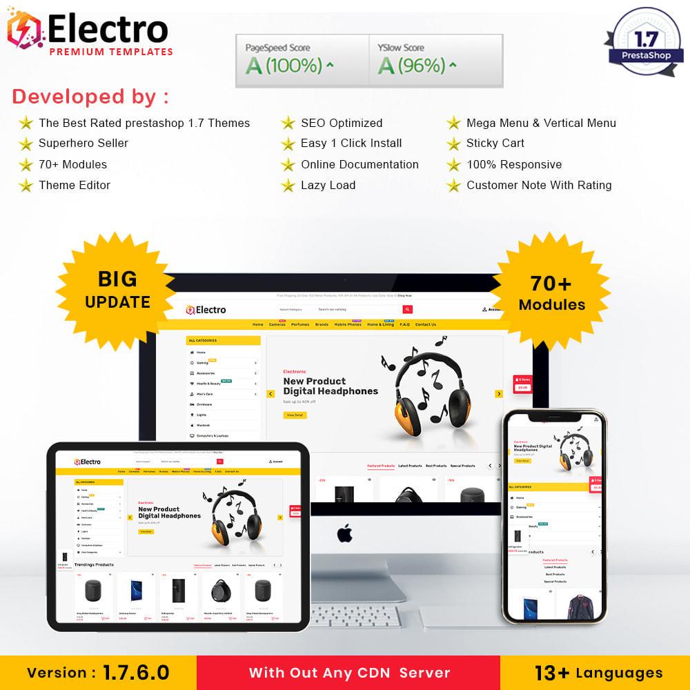 theme - Electrónica e High Tech - Electro Store - 1
