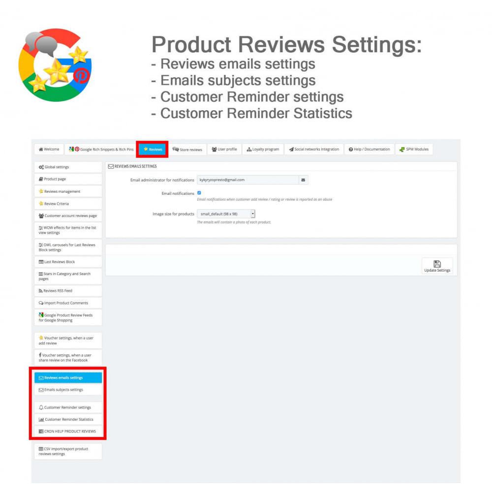 module - Klantbeoordelingen - Product, Shop Reviews, Loyalty Program, Google Snippets - 41