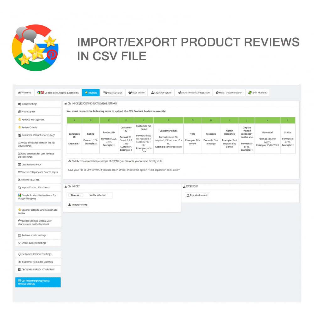 module - Klantbeoordelingen - Product, Shop Reviews, Loyalty Program, Google Snippets - 44