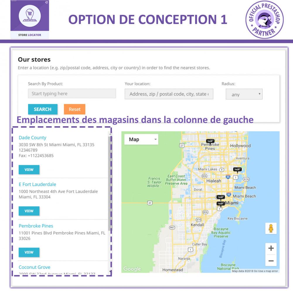 module - International & Localisation - Localisateur de magasin avec Google Maps - 2