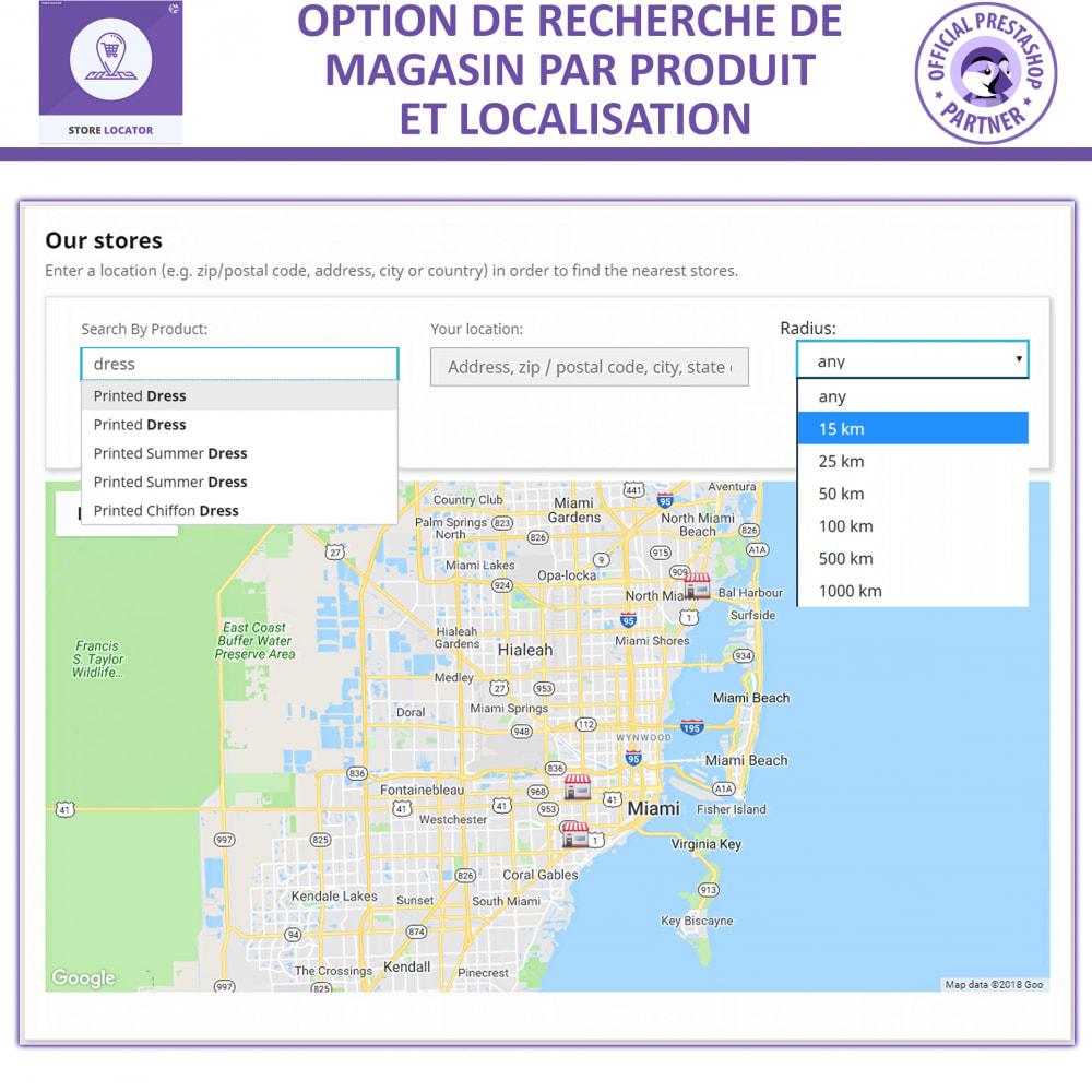 module - International & Localisation - Localisateur de magasin avec Google Maps - 6