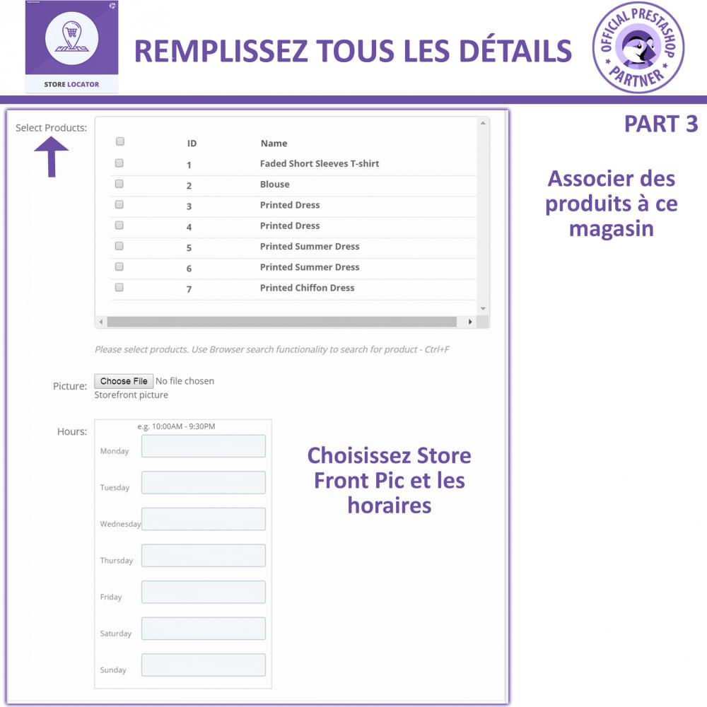 module - International & Localisation - Localisateur de magasin avec Google Maps - 14