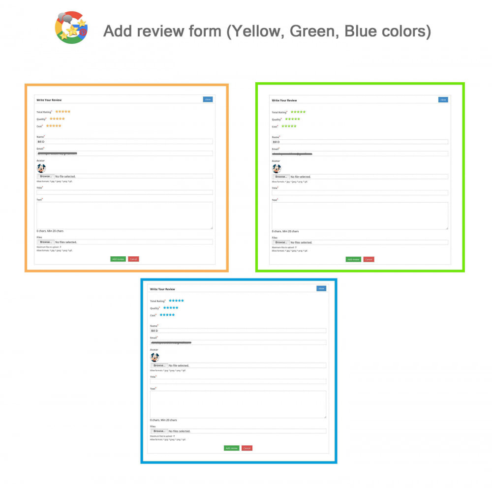 module - Klantbeoordelingen - Product, Shop Reviews, Loyalty Program, Google Snippets - 8