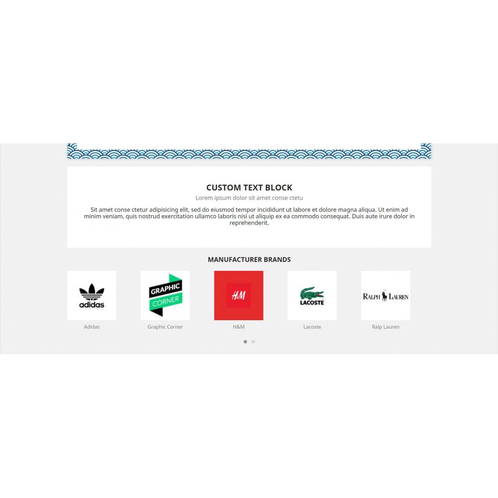 module - Marcas & Fabricantes - Manufacturers Brand Carousel & Product Sticker  Module - 1