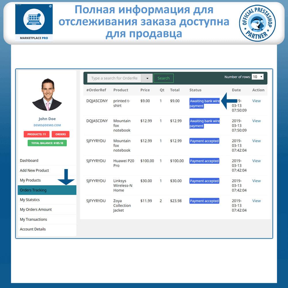 module - Создания торговой площадки - Multi Vendor Marketplace  - Marketplace Pro - 15