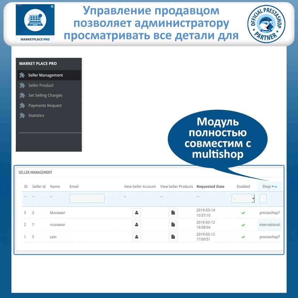 module - Создания торговой площадки - Multi Vendor Marketplace  - Marketplace Pro - 23