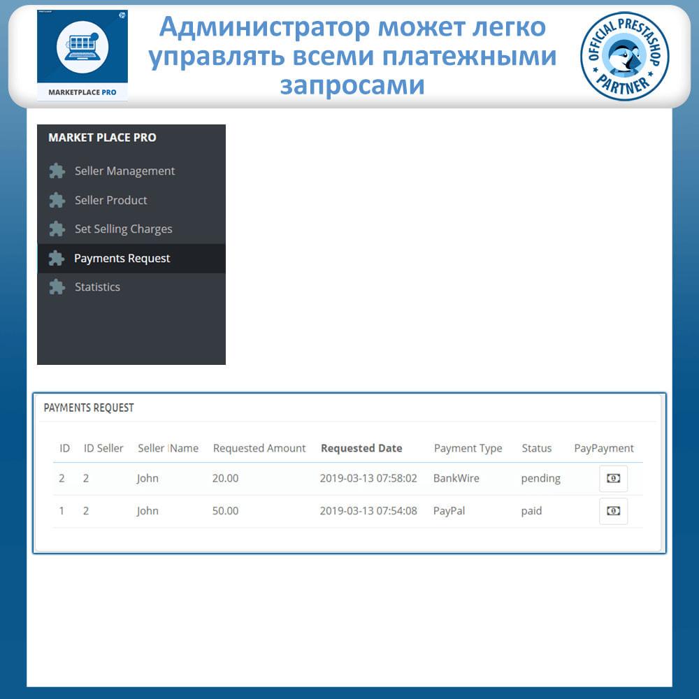 module - Создания торговой площадки - Multi Vendor Marketplace  - Marketplace Pro - 25