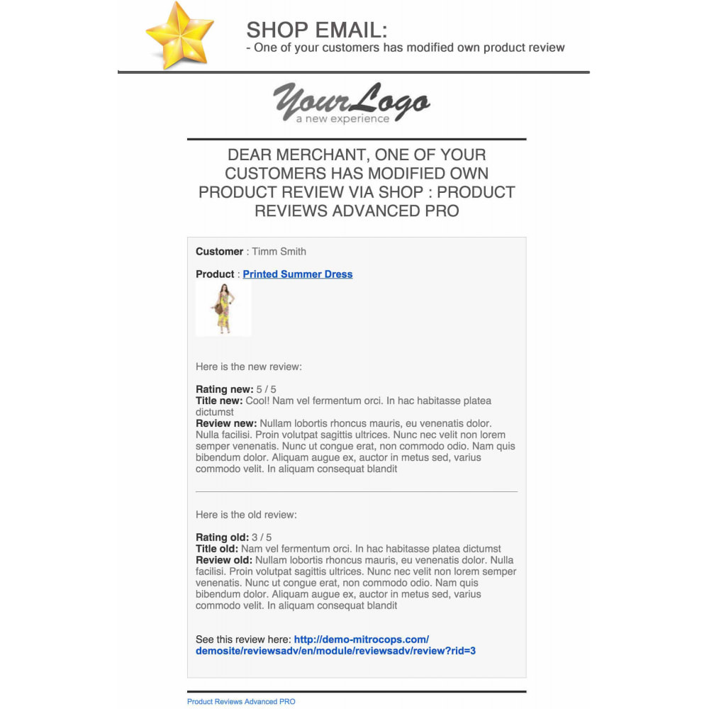 module - Sociale Widgets - Product Reviews PRO + Loyalty Program + User Profile - 26