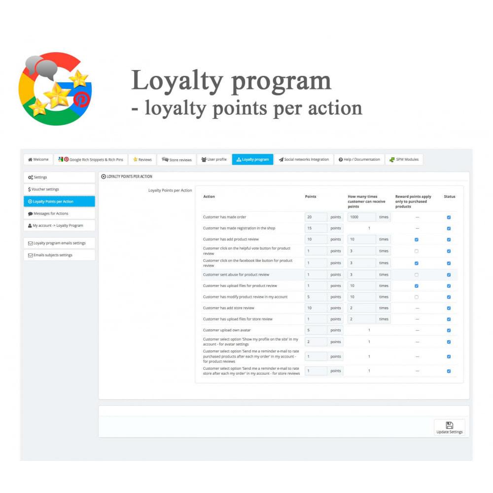 module - Klantbeoordelingen - Product, Shop Reviews, Loyalty Program, Google Snippets - 54