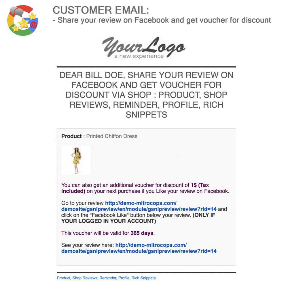 module - Klantbeoordelingen - Product, Shop Reviews, Loyalty Program, Google Snippets - 59