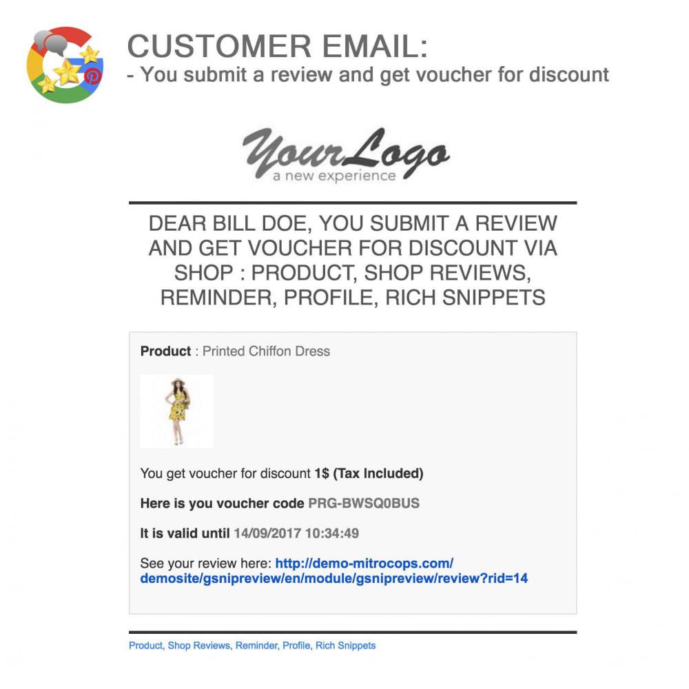 module - Avis clients - Produit+Boutique Avis, Points fidélité, Google Snippets - 58