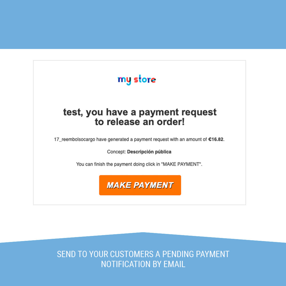module - Payment by Card or Wallet - Redsys POS, Payment by phone and email without orders - 5