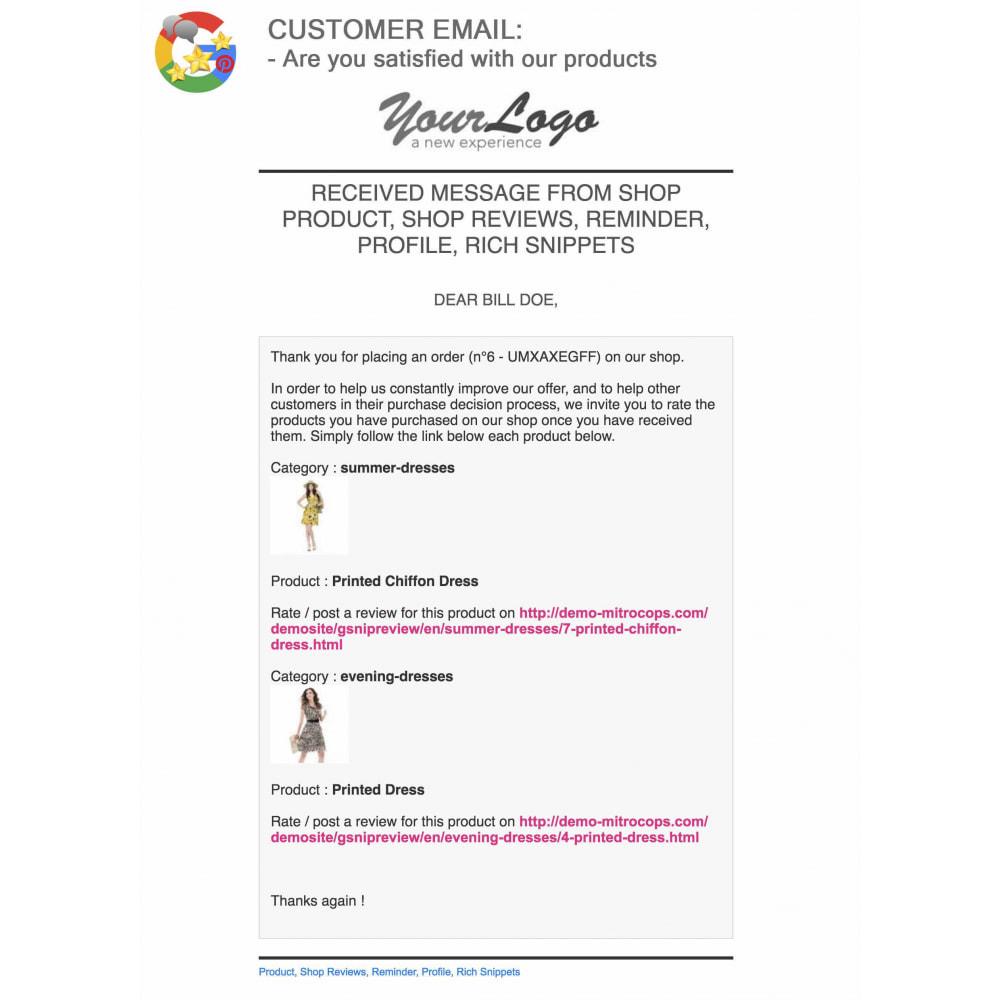 module - Klantbeoordelingen - Product, Shop Reviews, Loyalty Program, Google Snippets - 66