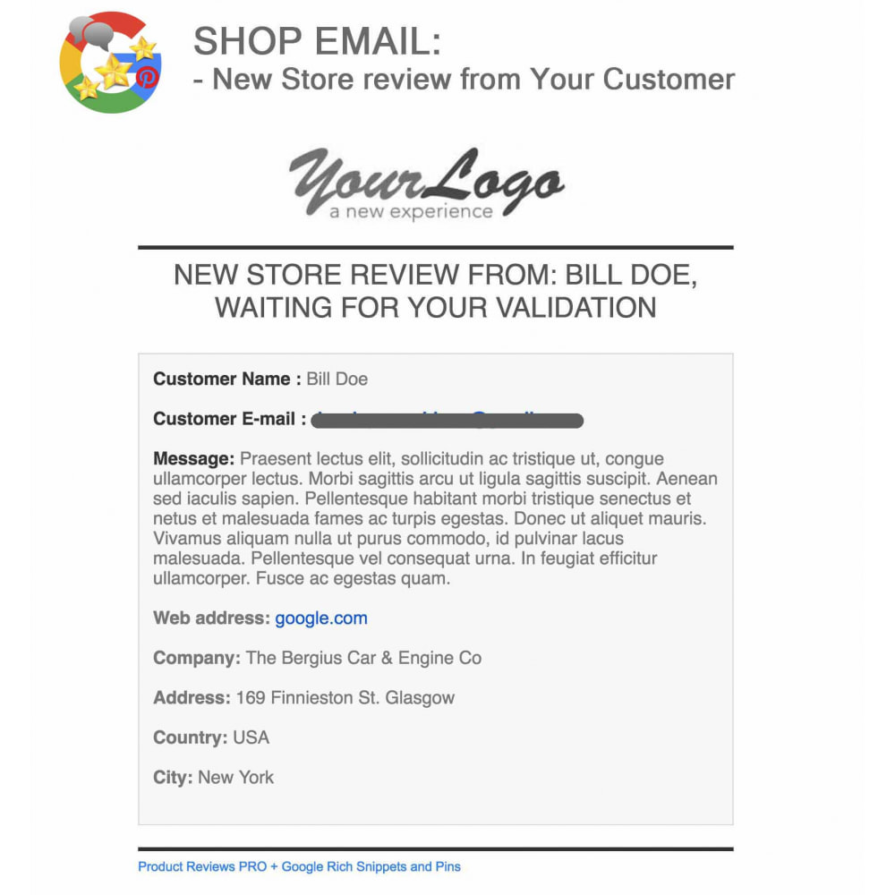 module - Klantbeoordelingen - Product, Shop Reviews, Loyalty Program, Google Snippets - 68