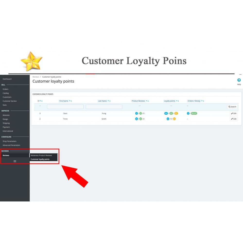 module - Sociale Widgets - Product Reviews PRO + Loyalty Program + User Profile - 47
