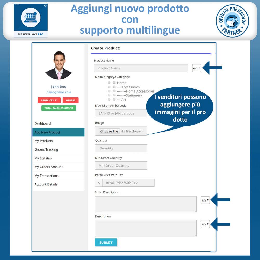 module - Creazione Marketplace - Multi Vendor Marketplace  - Marketplace Pro - 13