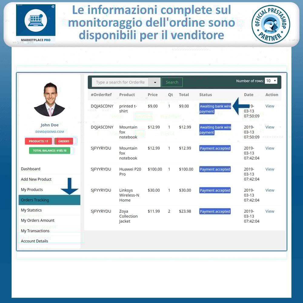 module - Creazione Marketplace - Multi Vendor Marketplace  - Marketplace Pro - 15