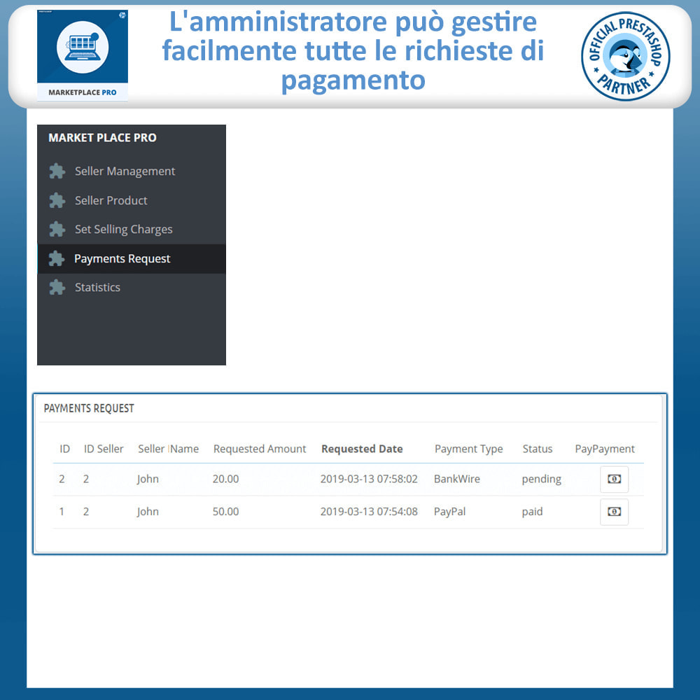 module - Creazione Marketplace - Multi Vendor Marketplace  - Marketplace Pro - 25